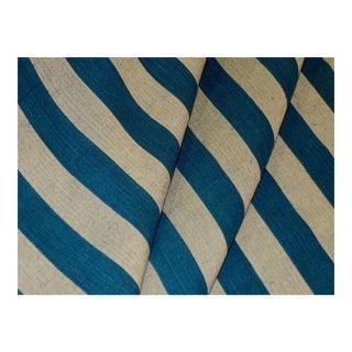 Ralph Lauren Riverton Stripe Color Denim Fabric For Sale