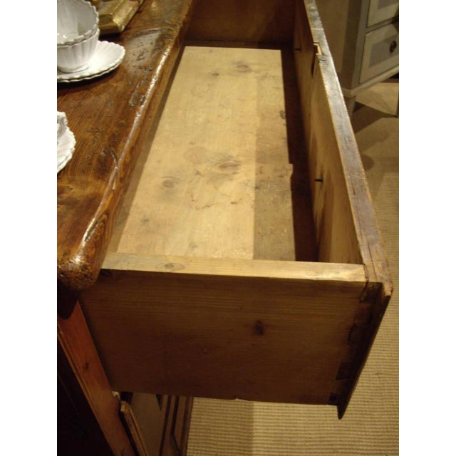 Early 19th Swiss Rustic Kitchen Commode For Sale In New Orleans - Image 6 of 10