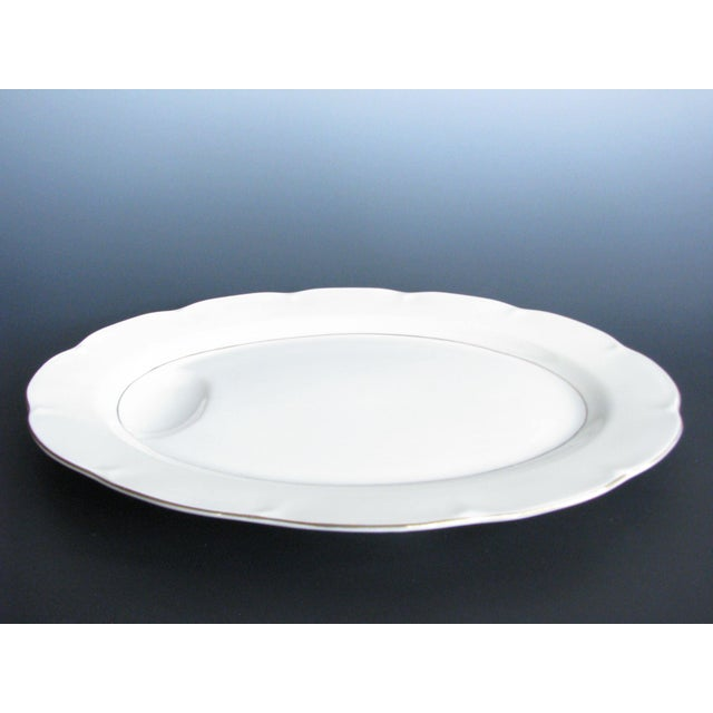 1950s Theodore Haviland New York Leeds Platter and Concord Serving Bowl For Sale - Image 9 of 13