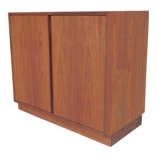 Danish Modern Style 2 Door Credenza Cabinet ( B ) For Sale