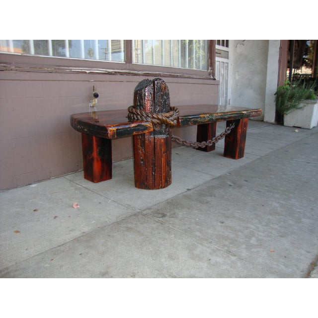 Vintage redwood coffee table with lacquer top and amazing details as can seen in the photos.