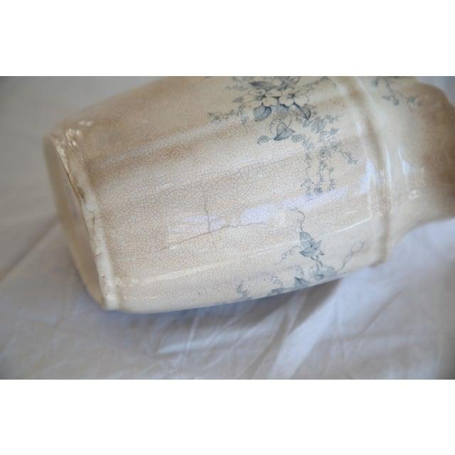 Antique English Transferware Pitcher - Image 7 of 8