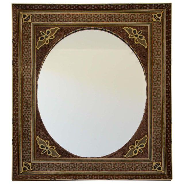 Middle Eastern Moorish-Style Sadeli Mosaic Mirror For Sale - Image 13 of 13