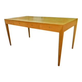 Severin Hansen Pure Design 4 Drawers Oak Desk For Sale