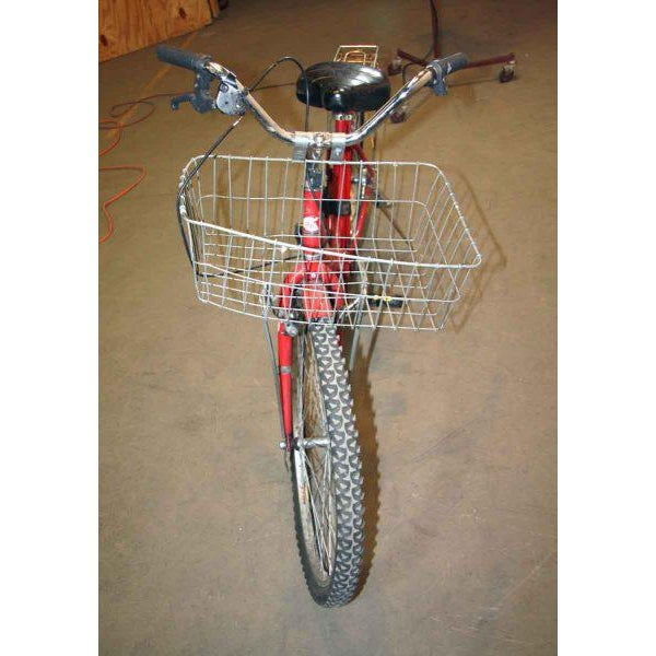 Original Red Strokin Bicycle with Basket - Image 4 of 10