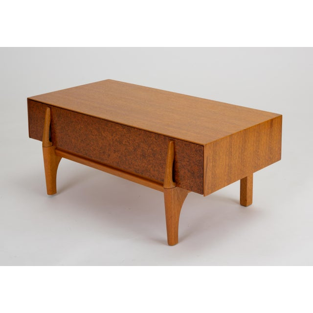 1950s Single Bench With Storage by John Keal for Brown Saltman For Sale - Image 5 of 13