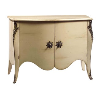 1980s French Cream Commode For Sale