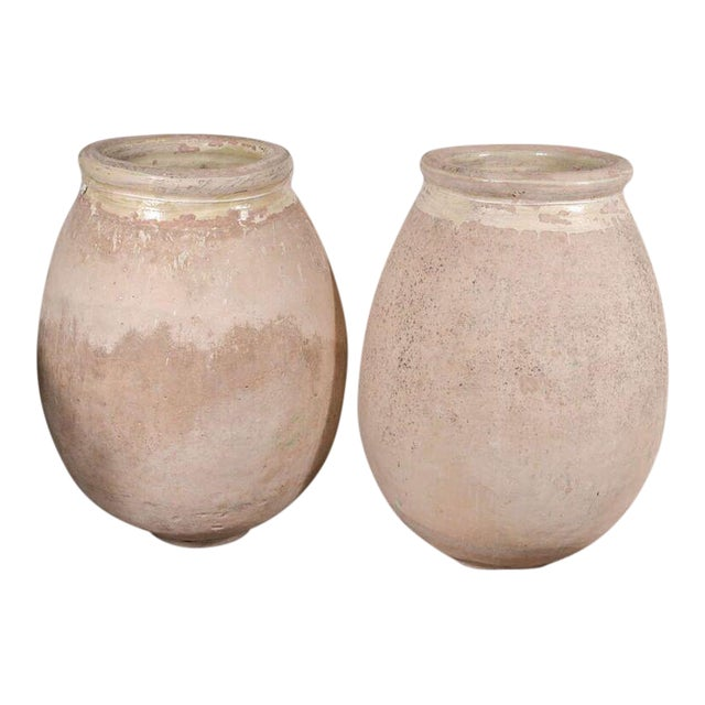 Pair of 19th century Biot Jars from France For Sale