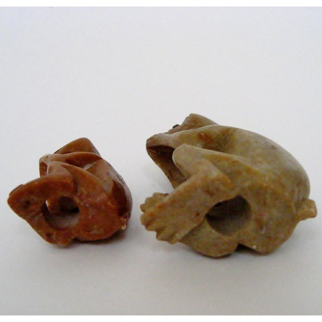 Carved Stone Monkeys - A Pair For Sale In Los Angeles - Image 6 of 6