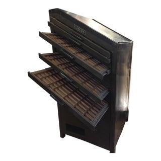 Ludlow Typesetter Printer's Cabinet For Sale