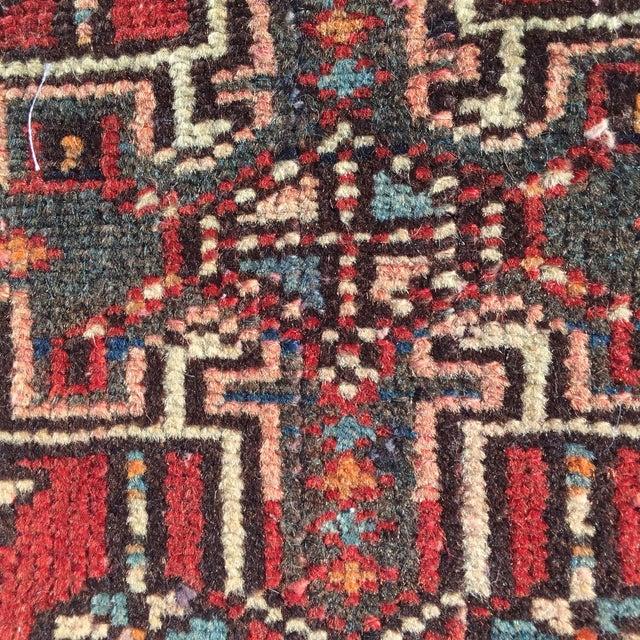 "Vintage Karajeh Persian Rug - 1'11"" X 2'5"" - Image 7 of 9"