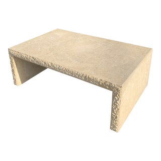 Mid Century Modern Tessellated Stone Table For Sale