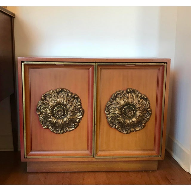 Mid Century Modern, Hollywood Regency, Beautiful Solid James Mont Style 1950's-1960's universal use sideboard cabinets or...