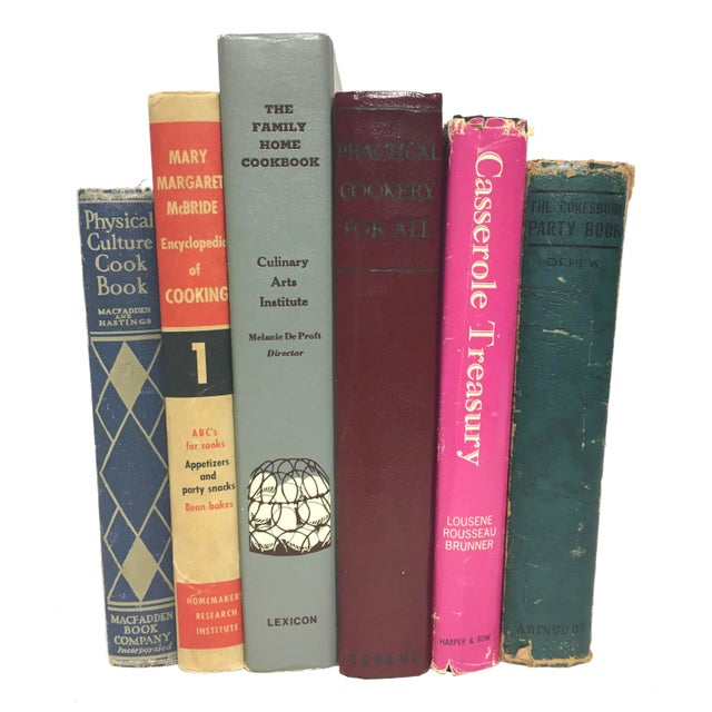 Vintage Entertaining Cookbooks - Set of 6 - Image 1 of 3