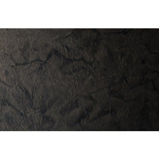Maya Romanoff Mesa - Black Slate - Hand-Painted Paper Wallcovering, 21 yds (19.2 m) For Sale