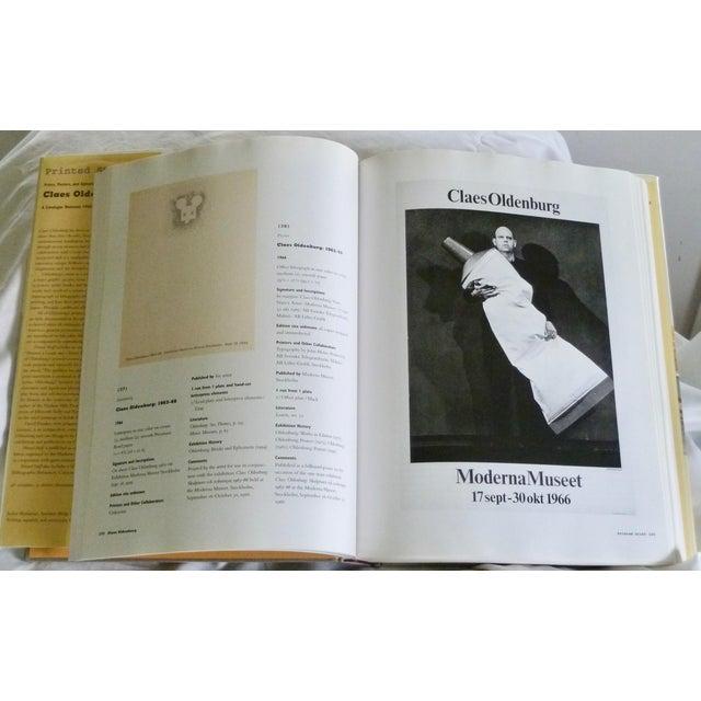 1990s Claes Oldenburg: Catalogue Raisonné Book For Sale - Image 5 of 7