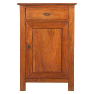 French 19th Century Provincial Walnut Confiturier For Sale