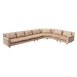 Huge Sectional Sofa by Edward Wormley for Dunbar (Upholstery Needed) For Sale