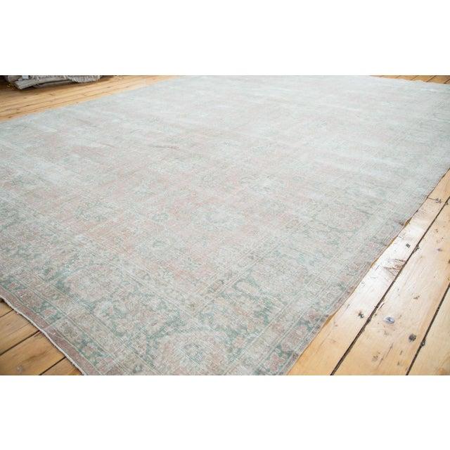 "Distressed Oushak Carpet - 9' X 12'1"" - Image 7 of 10"