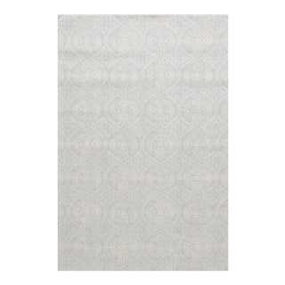 "Stark Studio Rugs Alessi Rug in Light Silver, 5'3"" x 7'9"" For Sale"
