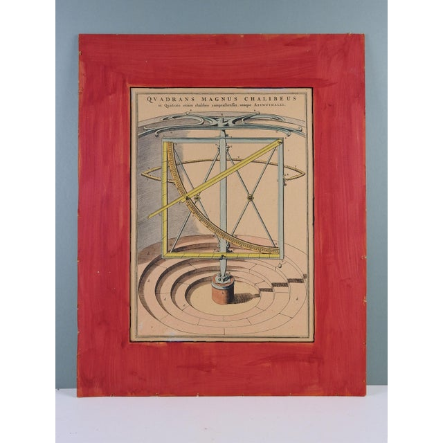 Illustration Circa 1960's Astronomical Instrument Print For Sale - Image 3 of 3