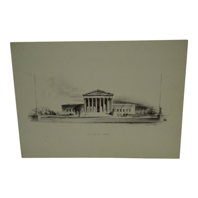 """""""The Supreme Court"""" by Ernest T. Daly For Sale"""