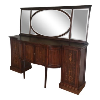 20th Century Heppelwhite Style Mahogany Sideboard For Sale