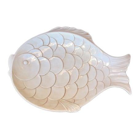 Vintage Fish-Shaped Platter For Sale