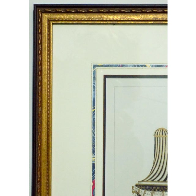 1899 Framed Porcelain Object Prints- A Pair For Sale - Image 10 of 10