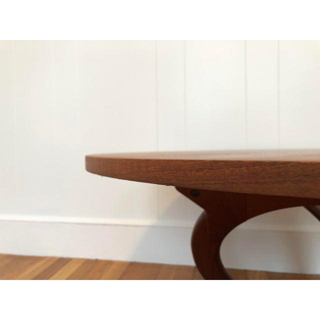 Vintage Mid-Century Soren Georg Jensen Danish Teak Coffee Table For Sale In Boston - Image 6 of 8
