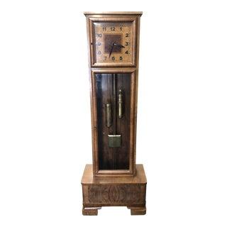 Mid Century Floor Clock For Sale