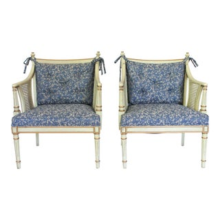 Vintage Arm Chairs - a Pair For Sale