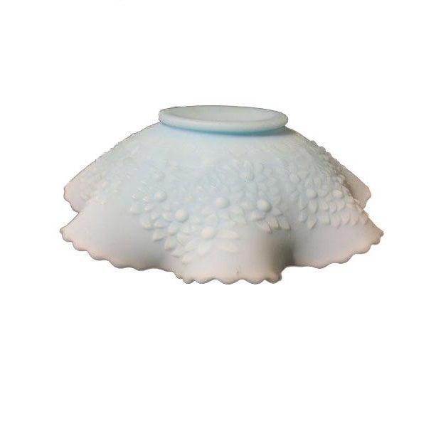 Fenton Light Blue Satin Glass Bowl - Image 2 of 4