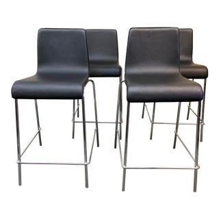 Blu Dot Counter Stool, Set of Four For Sale