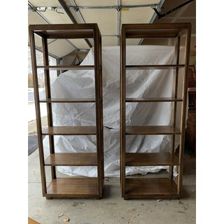 Mid 20th Century Drexel Heritage 5 Tiers Etageres Bookcase - a Pair Preview