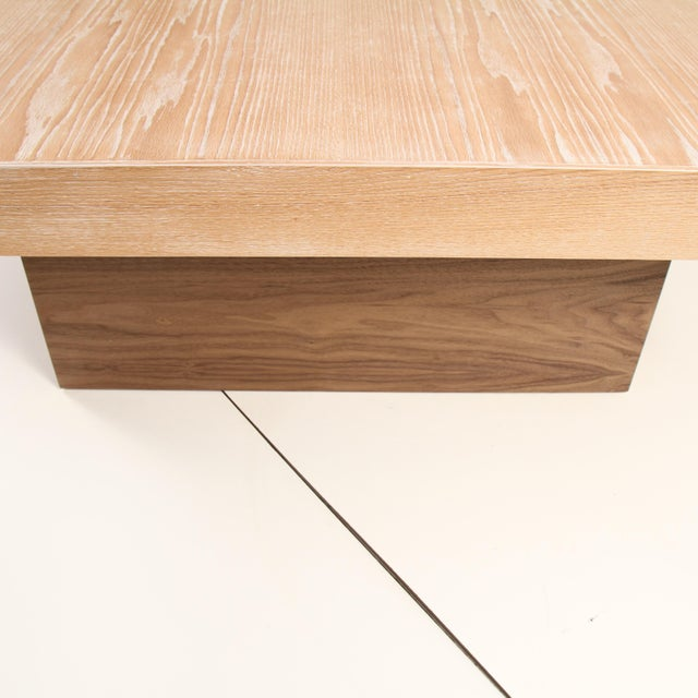 2010s Cerused Coffee Table by Samuel Greg For Sale - Image 5 of 10