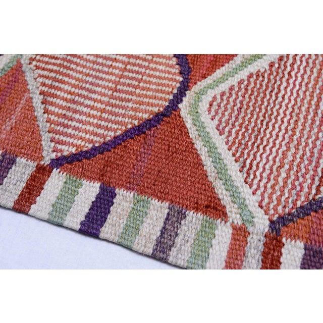 Vintage Barbro Nilsson Flat-Weave Swedish Carpet for Marta Maas-Fjetterström - Image 6 of 10
