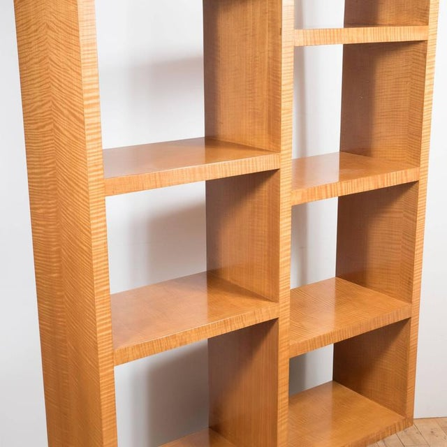 American Art Deco Style Illuminated Presentation Shelving Unit or Bookcase For Sale In New York - Image 6 of 10