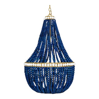 Marjorie Skouras China Sea Lapis Lazuli Empire Chandelier