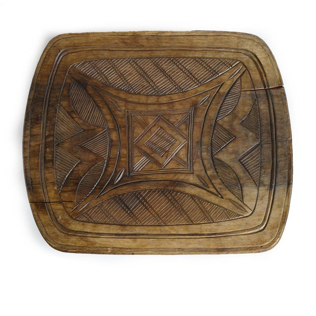 Mid 20th Century Vintage XL Nupe Tribal Stool / Table For Sale - Image 5 of 6
