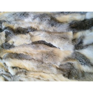 Multi-Color Sheer Fur & Cashmere Throw Preview