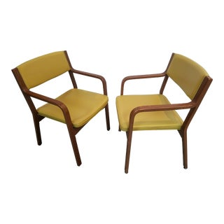 Mid-Century Modern Thonet Side Chairs - A Pair