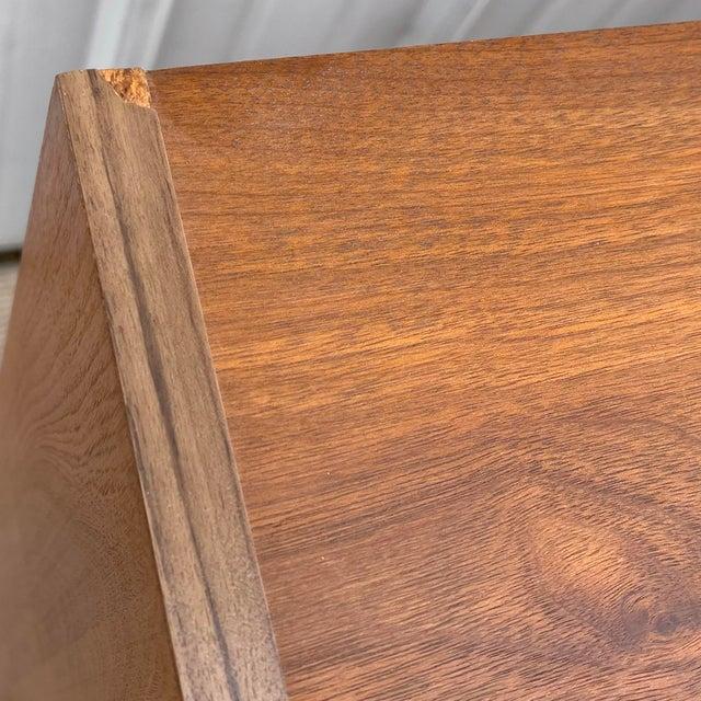 Vintage Modern Six Drawer Teak Dresser For Sale - Image 11 of 13