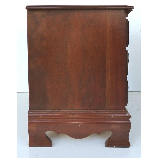 Chippendale Style Mahogany Nightstands - A Pair - Image 6 of 9