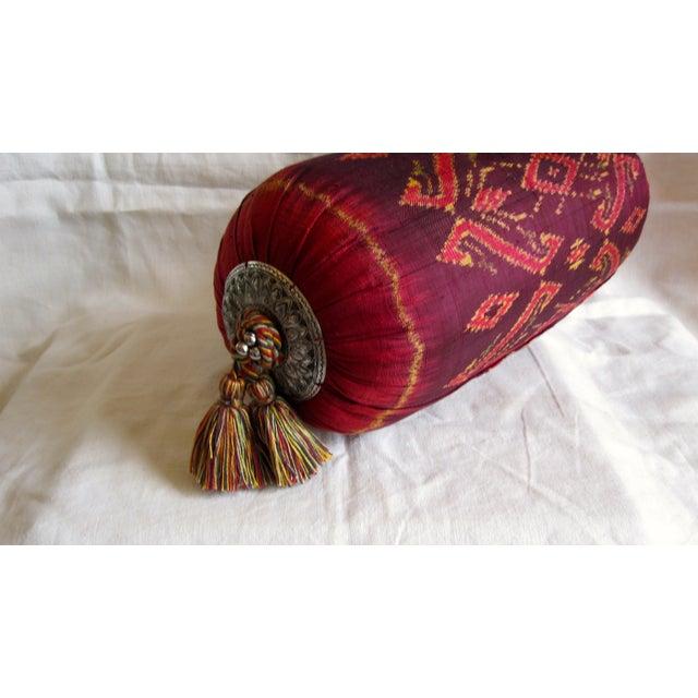 Silk Ikat Bolster - Image 5 of 6