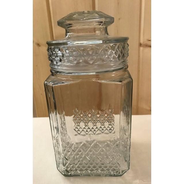 Vintage Square Canister Jar - Image 3 of 11