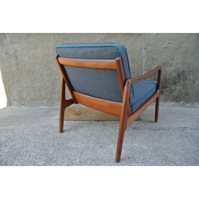 Gray Easychair by Ole Wanshcer for John Stuart For Sale - Image 8 of 9