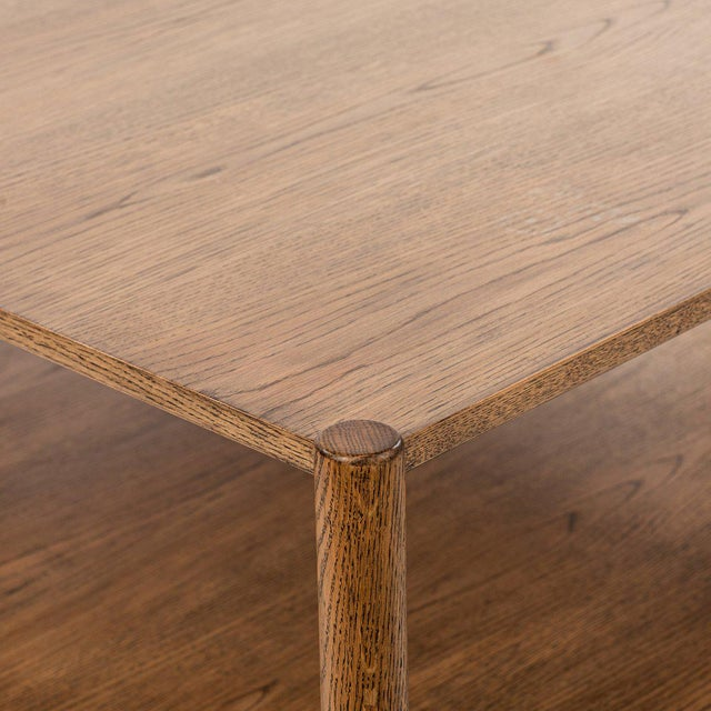 Contemporary Loma Coffee Table - Large in Brown For Sale - Image 3 of 6