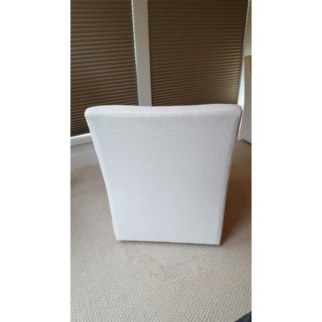 Restoration Hardware Modern New Ellison Track Arm Dining Chairs - Set of 6 For Sale - Image 11 of 11