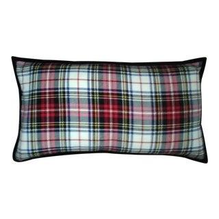 Ralph Lauren Tartan Stewart Plaid Lumbar Down Pillow
